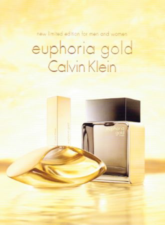 Ароматная пара Calvin Klein - Euphoria Gold Limited Edition 2014