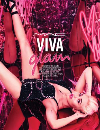 Коллекция зимы 2015 MAC Viva Glam & Miley Cyrus