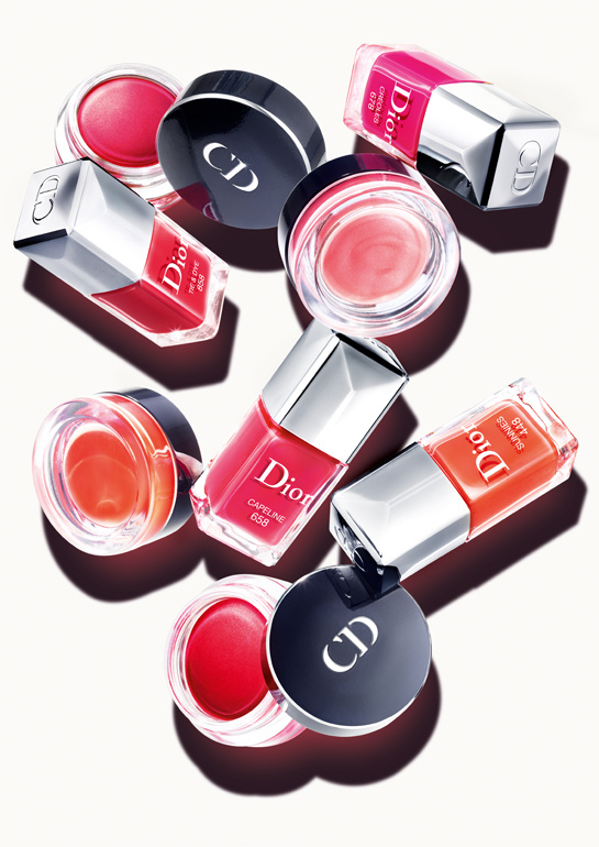 Dior Mix and Match Cream Blushes and Nail Polishes for Summer 2013