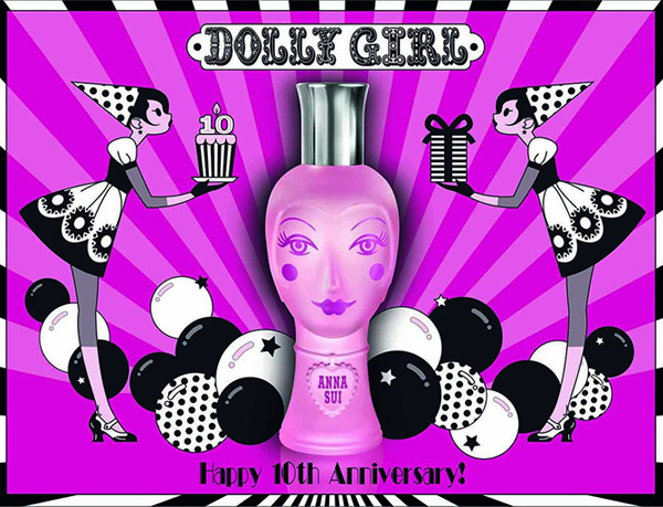 Anna Sui Summer 2013 – Dolly Girl Fragrance 10th Anniversary Edition