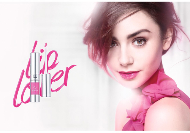 Lancome-Lip-Lover-Lily-Collins-2014
