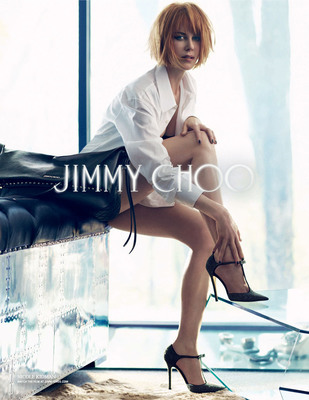 Николь Кидман для компании Jimmy Choo осень 2013